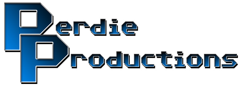 Perdie Productions logo for website